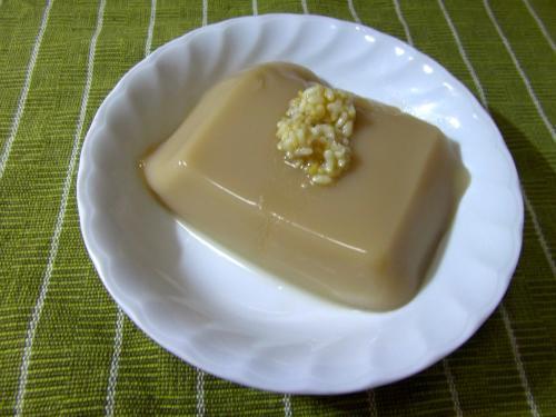 ピーナッツ豆腐