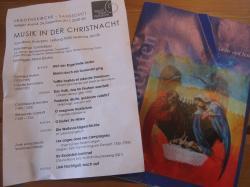 2011クリスマスコンサートチケット