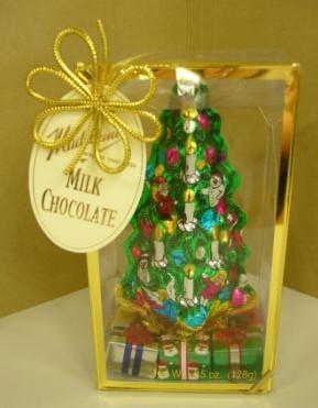 チョコのクリスマスツリー