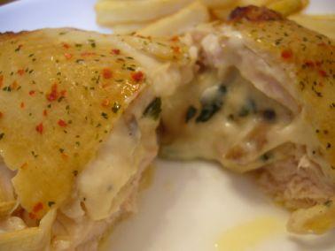 五穀味鶏の胸肉のロースト