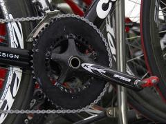 Carlos Sastres Q-rings put on crank
