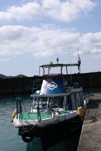 ダイビング艇