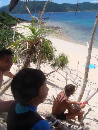 ハンミャ島↑
