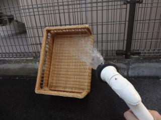 恒例の水洗い中♪