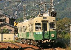 岩倉~八幡前間(2008.11.1)