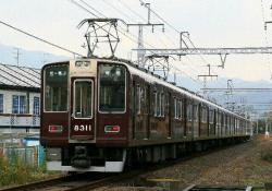 松尾~嵐山間(2008.11.15)