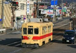 前畑~東八町間(2009.1.25)