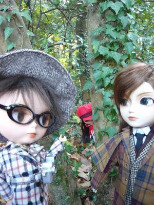 王子記者とホームズ探偵
