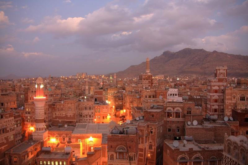 イエメン夜景