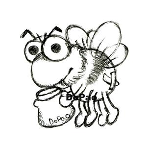 BEE はちみつ ミツバチ オリジナル キャラクター