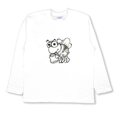 BEE はちみつ ミツバチ オリジナル キャラクター Tシャツ