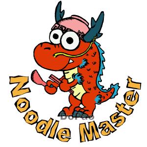 Noodle Master ドラゴン ラーメン オリジナル キャラクター