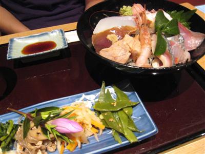 特撰 海鮮丼定食