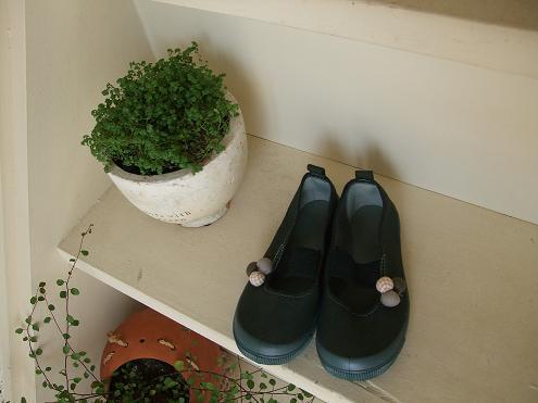 0906 緑靴