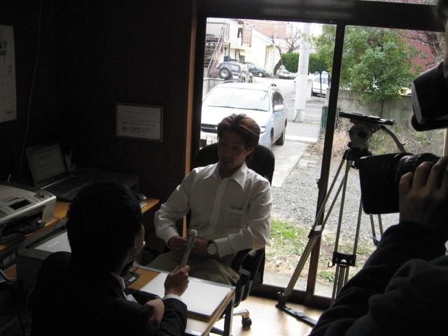 山梨県ブロガー協会INAテレビインタビュー