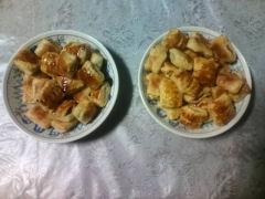 ミニチョコパイ&アップルパイ