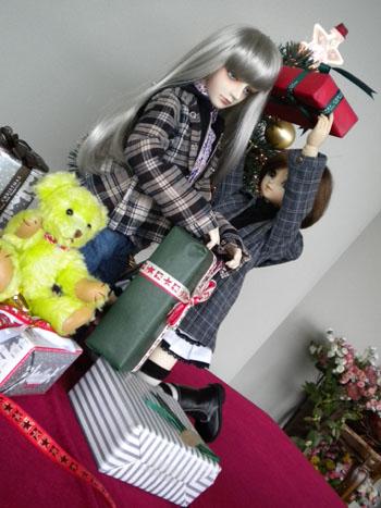 クリスマス(竜美&ノエル)