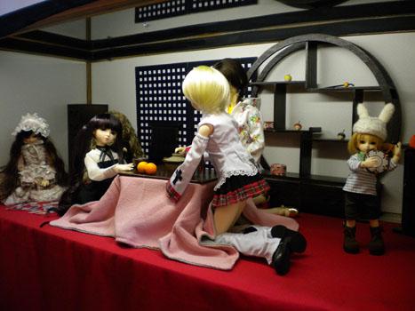 女子祭り(裏方)