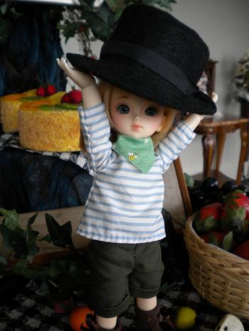 おっきい帽子