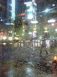 雨の栄(名古屋市)