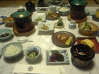 「20070501朝食」べっぷ昭和園(別府市)