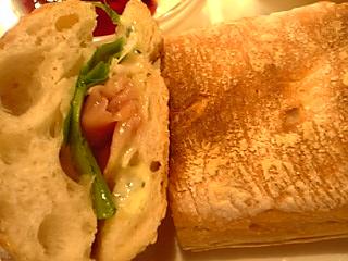 「パルマサンドイッチ」カフェコンフォート(福岡市)