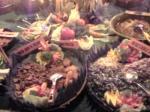 「バリニーズビュッフェ」カフェ・ワヤン&ベーカリー(バリ島・ウブド)