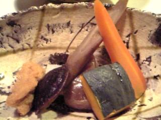 「田舎の煮物」おやど二本の葦束 馳走庵(由布院)