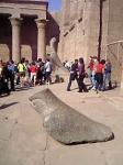 ホルス神殿のホルス