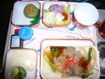 「大阪→カイロ機内食3回目」エジプト航空