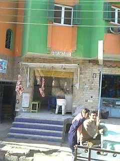 エジプトの肉屋