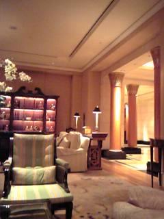 「ロビー」フォーシーズンズホテル シンガポール