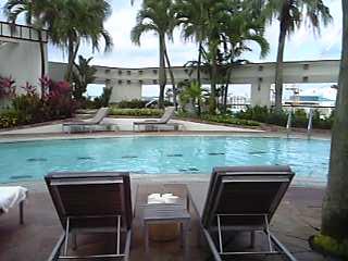 「プール」フォーシーズンズホテル シンガポール