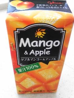 「マンゴー&アップル」グリコ乳業