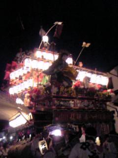 日田祇園の山鉾