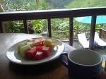 「ヴィラダイニング」カマンダル・リゾート&スパ(バリ島・ウブド)