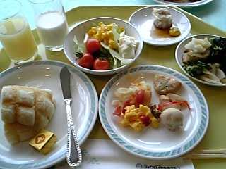 「キャッスルビューの朝食」唐津ロイヤルホテル