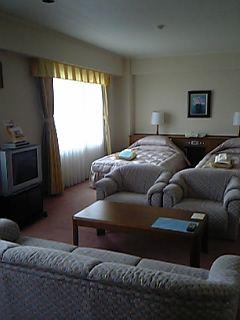 「唐津ロイヤルホテル」スイートルーム