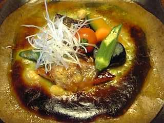 「鰻チーズ焼オランデーズソース」宿房 翡翠之庄(長湯温泉)
