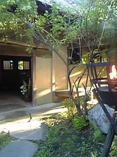 「フロント入り口」宿房 翡翠之庄(長湯温泉)