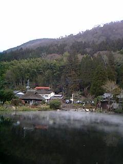 由布院温泉 冬の金鱗湖