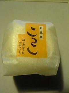 静岡新銘菓「こっこ」