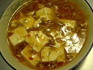 「麻婆豆腐」頂好食品の辣豆瓣を使用(台湾)