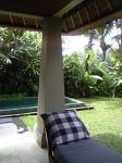 「ヴィラのプール」マヤウブド リゾート&スパ(バリ島)