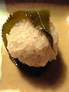 「さくら餅」菓子処 三木屋(福岡市)