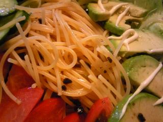 「サラダスパゲティ」