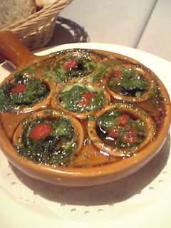 リストランテ ビスのムール貝オーブン焼き