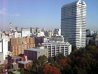 「ニューオータニ東京」メイン13階からの眺め