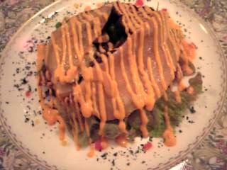 「ノルウェーサーモンとグリル野菜のゆずマリネ パプリカソース」ニューヨークヘルスキッチン(福岡市)