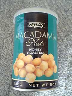 「MACADAMIA Nuts」PATON'S(オーストラリア)